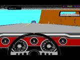 The Duel: Test Drive II Car Disk - The Muscle Cars DOS Mustang dashboard
