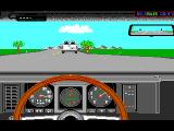 The Duel: Test Drive II Car Disk - The Muscle Cars DOS Camaro dashboard