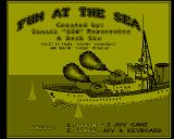 Fun at the Sea Amiga Title screen
