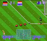 International Superstar Soccer Deluxe Genesis Goal Kick