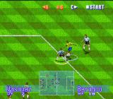 International Superstar Soccer Deluxe Genesis Great control in front of the area