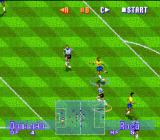 International Superstar Soccer Deluxe Genesis A dangerous shoot...