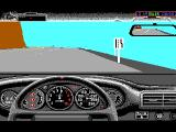 Test Drive II Car Disk: The Supercars DOS Twin Turbo dashboard