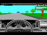 The Supercars: Test Drive II Car Disk DOS Esprit dashboard