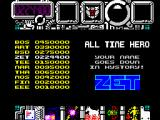 Hysteria ZX Spectrum After repeating 3 times the set of 3 stages I quitted. It's more of the same.