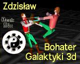 Zdzislav: Hero of the Galaxy 3D Amiga Title screen