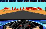 Highway Patrol II DOS Game start - Start your engines!