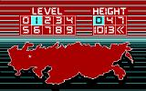 Tetris DOS Select the Level (CGA)