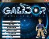 The game's initial menu screen<br>This is displayed when the game is first started