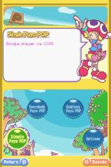 Puyo Pop Fever Nintendo DS Main Menu.