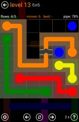 "Flow Free Android Some levels include ""bridges"" where lines can cross each other"