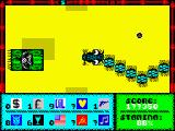 Fast 'n' Furious / Thunderceptor ZX Spectrum Fast 'n' Furious: Level 4.<br>