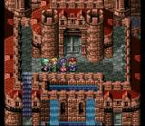 Lufia II: Rise of the Sinistrals SNES A castle