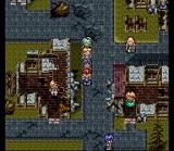Lufia II: Rise of the Sinistrals SNES A town destroyed by a Sinistral