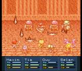 Lufia II: Rise of the Sinistrals SNES Fire spell