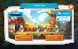The Smurfs: Epic Run Android The Smurf's farm where sarsaparilla is harvested.
