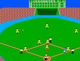 Great Baseball SEGA Master System Good hit.