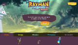 Rayman Legends: Beatbox Android The starting screen to create a custom song.