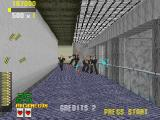 Virtua Cop Windows Shooting with machine gun is fun