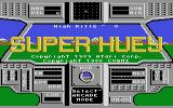 Super Huey UH-IX Atari 7800 Title screen