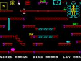 Frank N Stein ZX Spectrum Level 3: Complete skeleton.<br>
