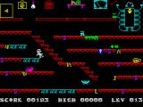Frank N Stein ZX Spectrum Level 13: Waterfalls of Ice.<br>