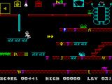 Frank N Stein ZX Spectrum Level 31: Ice fall of doom.<br>