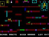 Frank N Stein ZX Spectrum Level 47: Delusive teleporting device.<br>