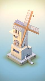 Monument Valley iPhone A strange windmill. A level created for charity.