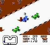 Super R.C. Pro-Am Game Boy Gameplay on Game Boy Color.