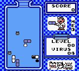 Dr. Mario Game Boy Gameplay on Game Boy Color.