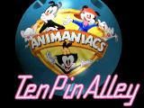 Animaniacs: Ten Pin Alley PlayStation Title screen.