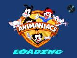Animaniacs: Ten Pin Alley PlayStation Loading screen.