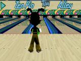 Animaniacs: Ten Pin Alley PlayStation Ten Pin Alley! Positioning the character...