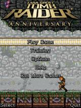 Lara Croft: Tomb Raider - Anniversary J2ME Main menu