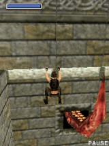 Tomb Raider: Underworld J2ME Tentacle sticking out of wall