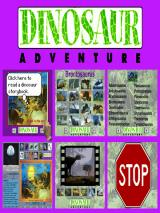 Dinosaur Adventure 3-D Windows Main Menu