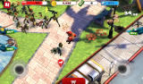 Zombiewood Android Turrets help to keep back large waves of zombies.