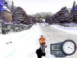 Moto Racer 2 Windows A superbike race through a snowy countryside