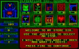 Slime Nemesis Atari ST The shop