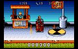 The Incredible Crash Dummies Amiga Jump on the spinning disc to enter next level