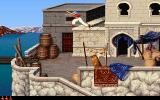 Prince of Persia 2: The Shadow & The Flame DOS At the harbour...