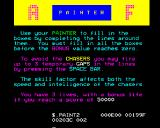Painter BBC Micro Objectives of the game.
