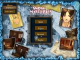Snow Mysteries: Das Geheimnis der Berge Windows Main screen