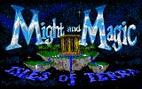 Might and Magic III: Isles of Terra Amiga Title screen