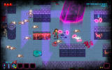 Deathstate Windows Skeletons are easy enemies as they do not shoot. Just below me there is a health pick-up.
