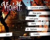 Violett: Remastered Edition Linux Title and main menu