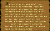 Defender of the Crown Commodore 64 Background story