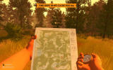 Firewatch Windows Use a map and a compass to navigate.