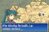 Fire Emblem Game Boy Advance The heroes travel via an overhead map